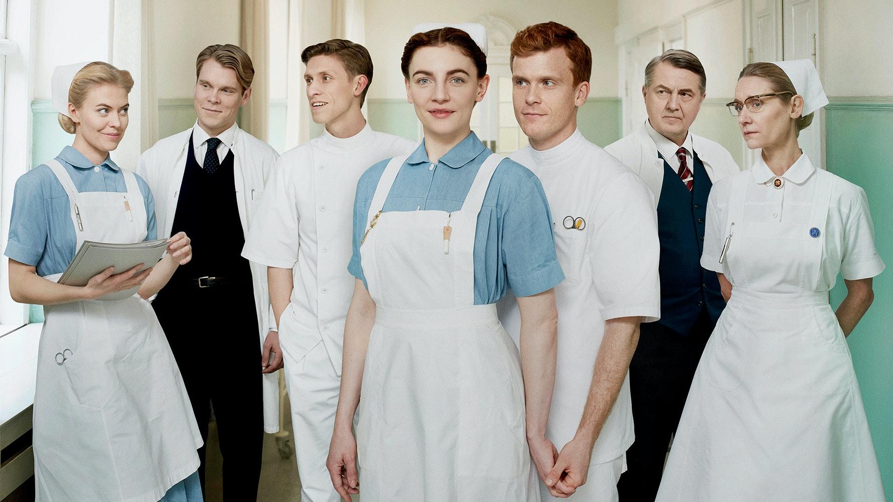 Sygeplejeskolen - en dramatisk fortælling om livet på Fredenslund Sygehus