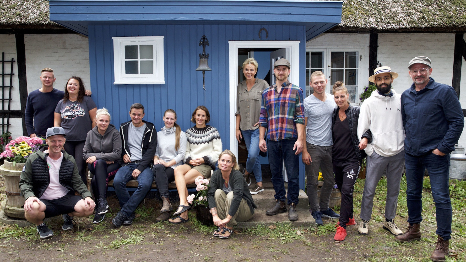 Hjem til gården - en flok danskere afprøver drømmen om 'det simple liv'